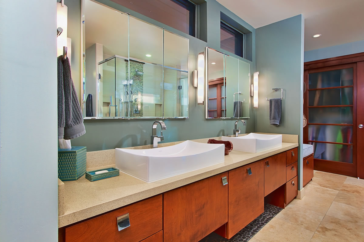 Central Phoenix Master Bathroom Remodel Interior Design By Elle Interiors