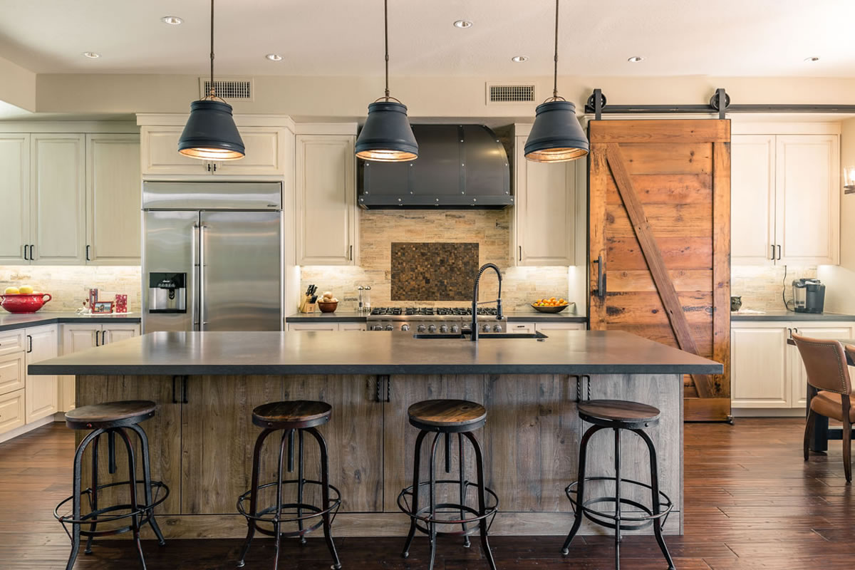 Gilbert industrial farmhouse remodel interior design by for Industrial farmhouse plans