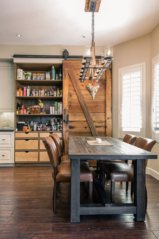 Gilbert Industrial Farmhouse Remodel Interior Design By