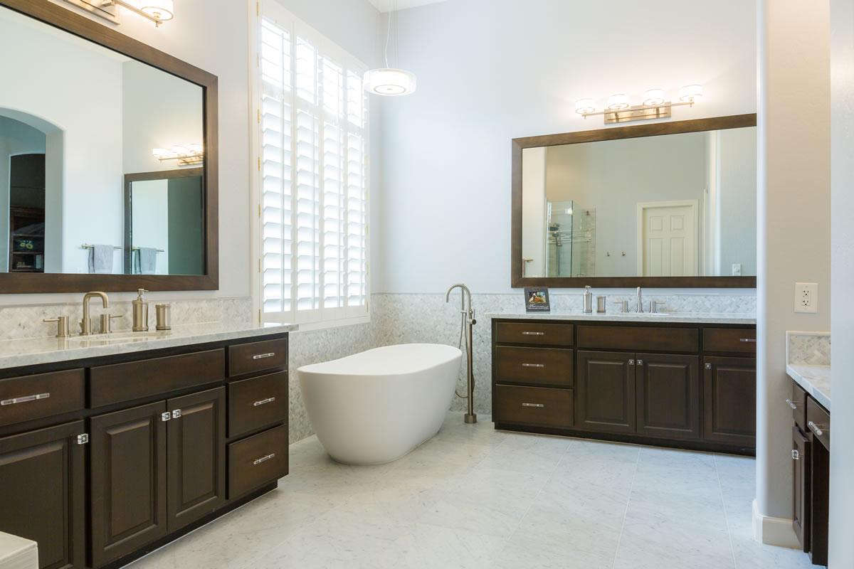 Scottsdale Master Bath Remodel Interior Design By Elle