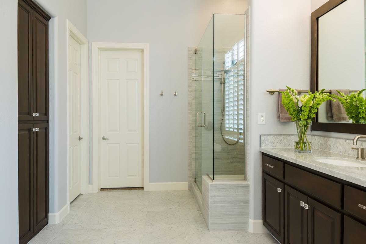 Scottsdale master bath remodel interior design by elle for Bathroom remodel scottsdale