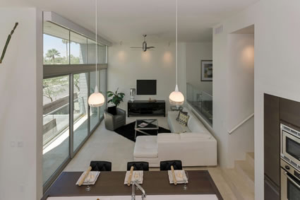 Contemporary Downtown Phoenix Interior Design