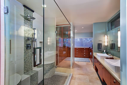 Central Phoenix Master Bathroom Remodel