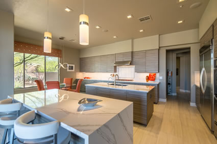North Scottsdale Contemporary Kitchen Remodel