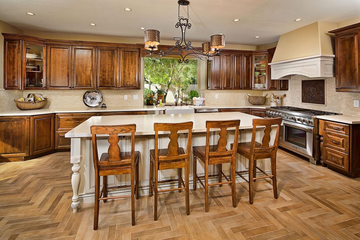 chandler kitchen remodel - interior design by elle interiors